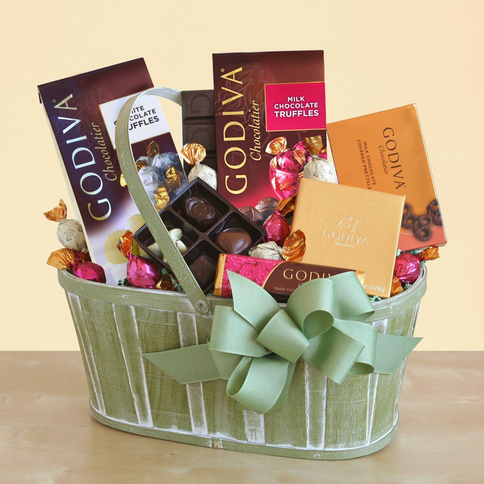 Godiva for mom gift basket mother