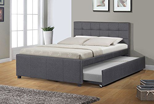 Discounted Best Quality Furniture K27 Full Bed W Trundle Dark