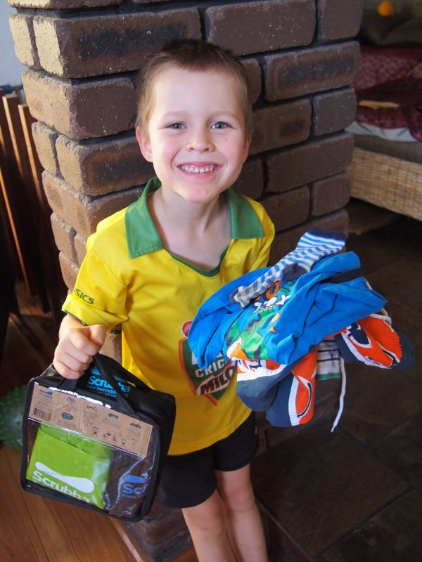 Scrubba Wash Bag Review One Kid And His Dirty Clothes