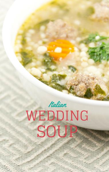 The Chew Chef Mario Batalis Turkey Meatball Wedding Soup Recipe