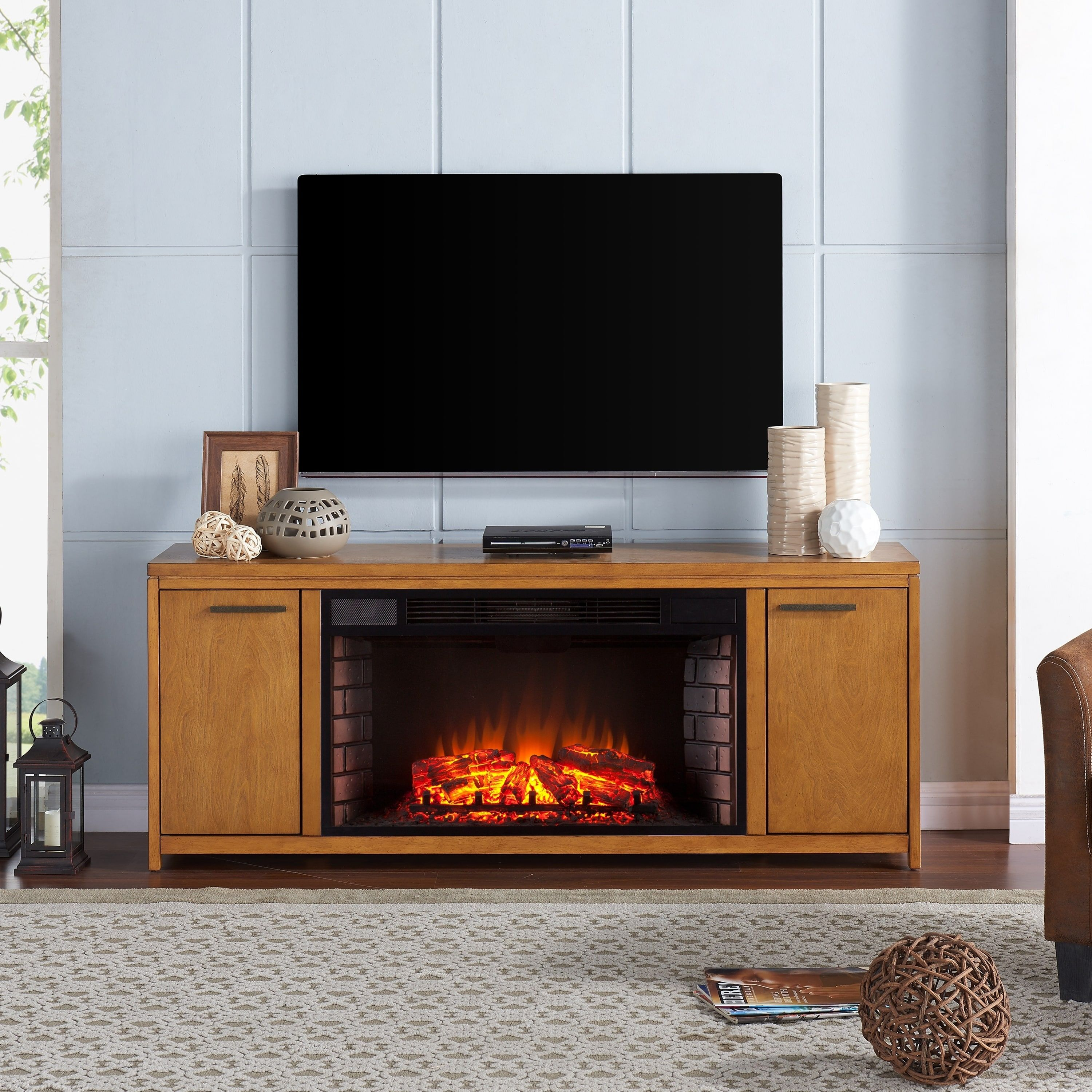 fireplace know you tiles pin most need to this popular tv ideas year oak stand