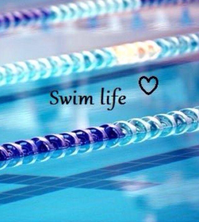 Discovered on Monogram App Frases sobre natación, Amo