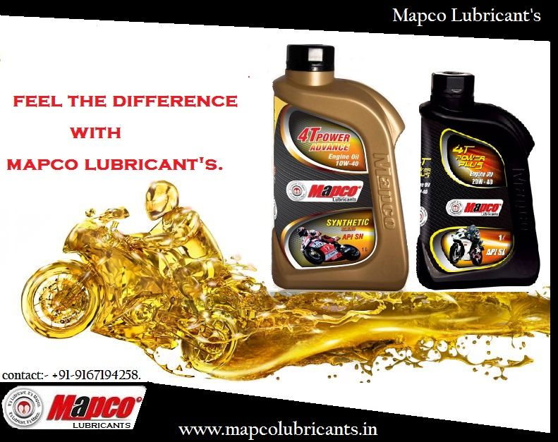 Mapco Lubricants Synthetic Blend Engine Oil 10w40 4t Power Plus