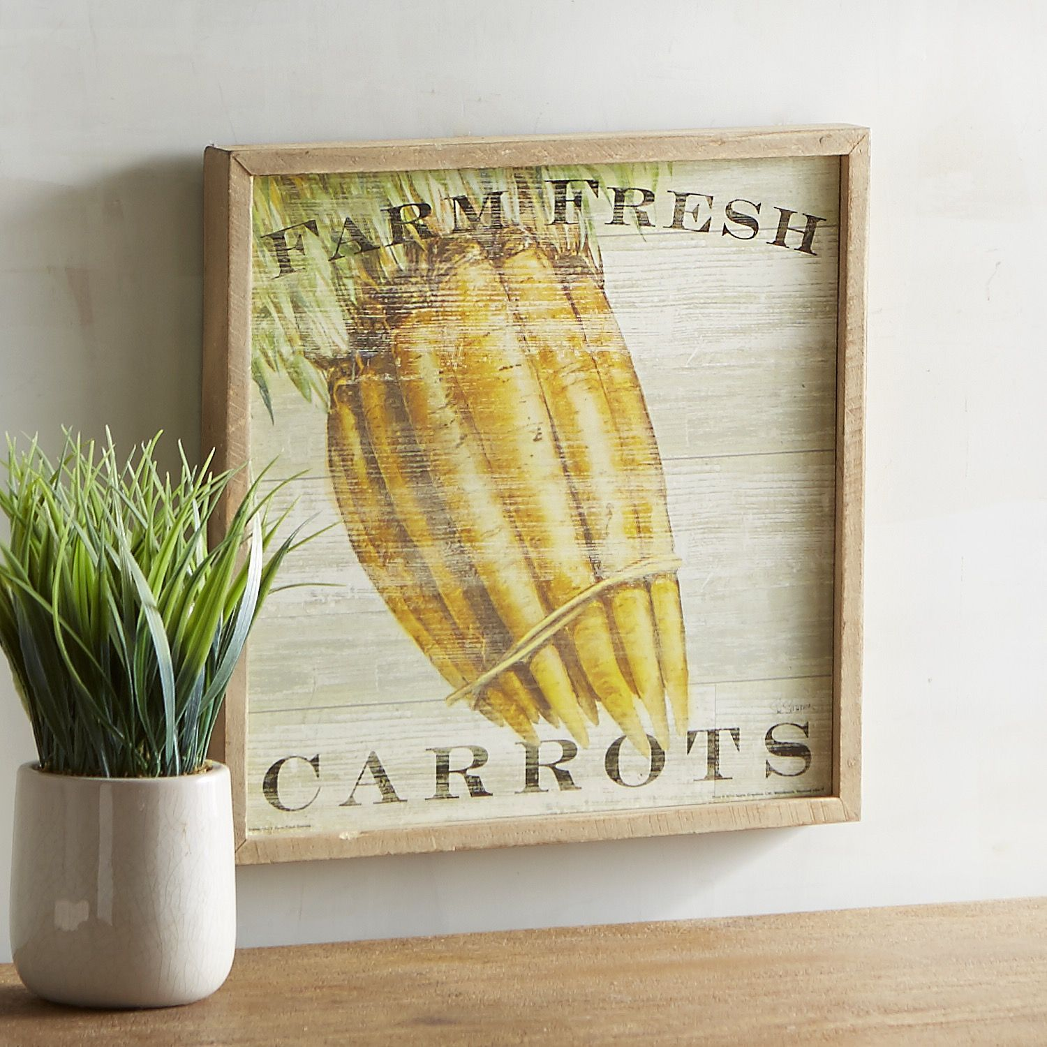 Farm Fresh Carrots Wall Decor Orange | Products