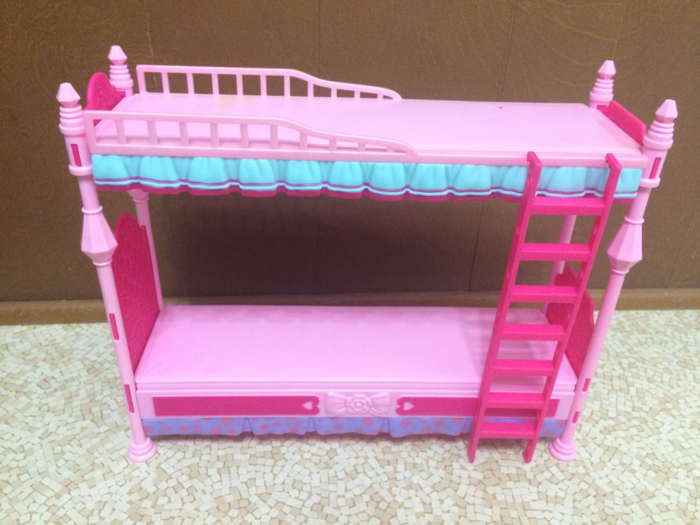 Barbie Sister Stacie Chelsea Skipper Doll Sleeptime Bedroom Bunkbed