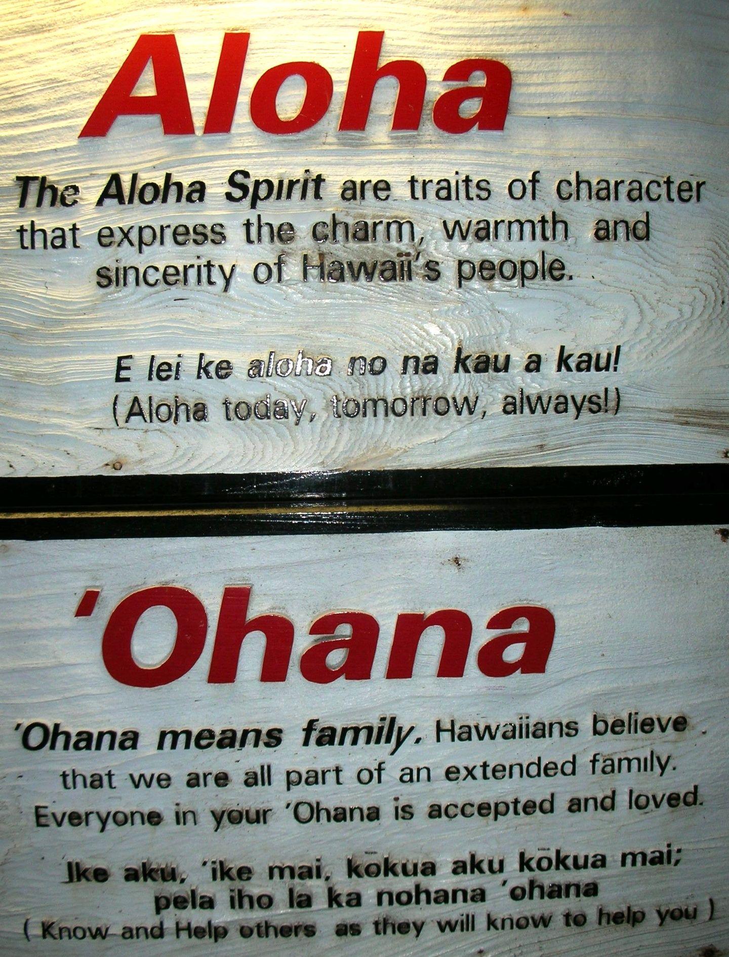 Aloha Ohana Ohana Means Family Family Means No One Gets Left Behind 3 Hawaiian Quotes Hawaiian Hawaii Quotes