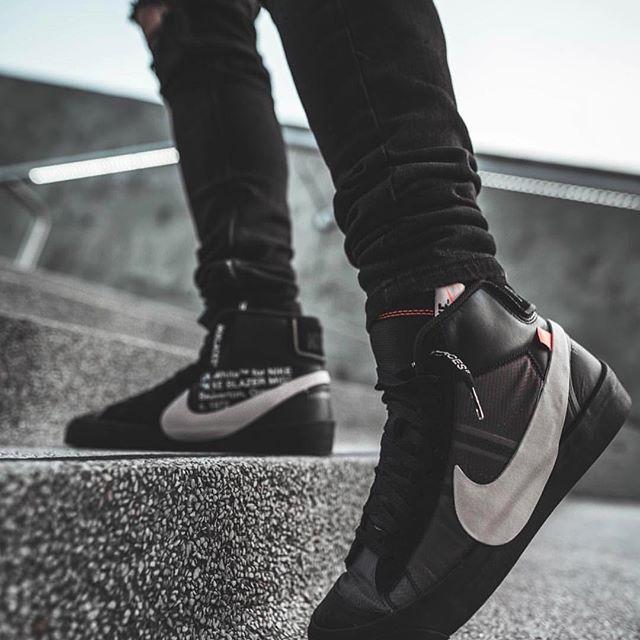 19dd0a324d569 Off-White Nike Blazer Mid Grim Reaper AA3832-001 Release Date - SBD ...
