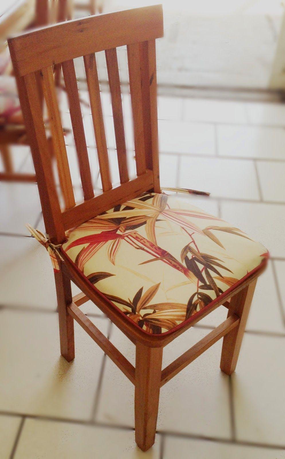 Cadeira Estacao Com Almofada Com Imagens Cadeiras Para Mesa