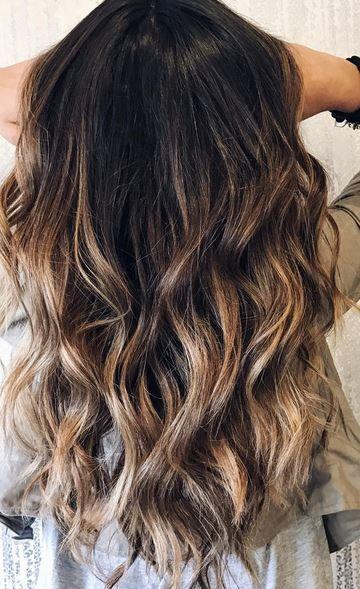 Brunette Color Melt Color Melting Hair Hair Burnette Hair