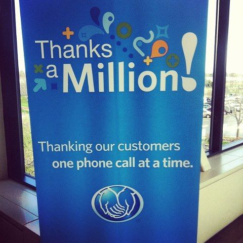 The Thanks A Million Campaign Is In Full Swing Allstate