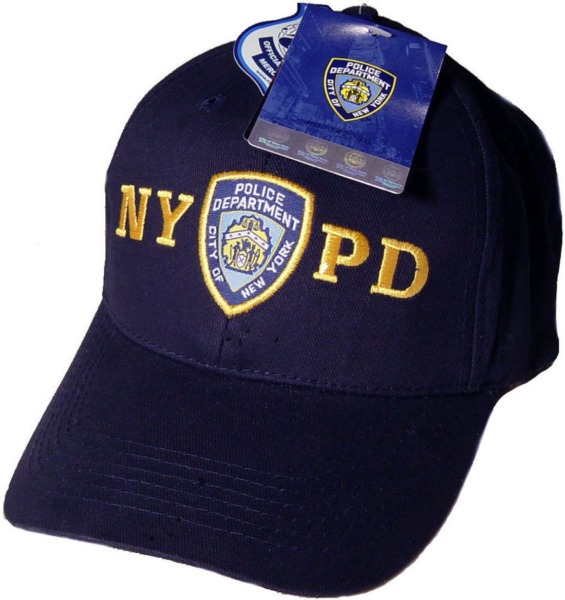 Nypd Baseball Cap Hat Licensed By The York City Police Department ... 26a2c2d5b085
