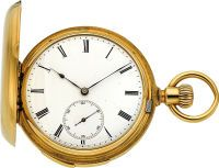 Patek Philippe very fine gold Minute Repeater for I. Marenzeller Vienne, circa 1871