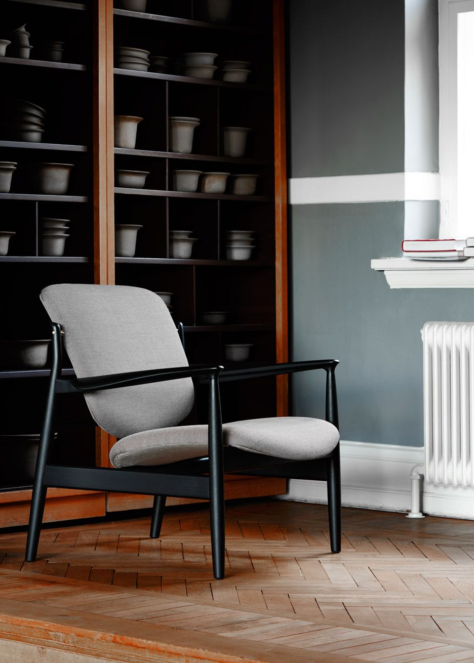 Furniture manufacturer Onecollection has relaunched a 1958 chair by Finn Juhl, which played an important role in the proliferation of Danish design