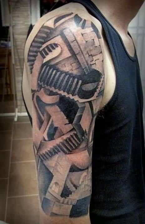 Escher Hands Tattoo