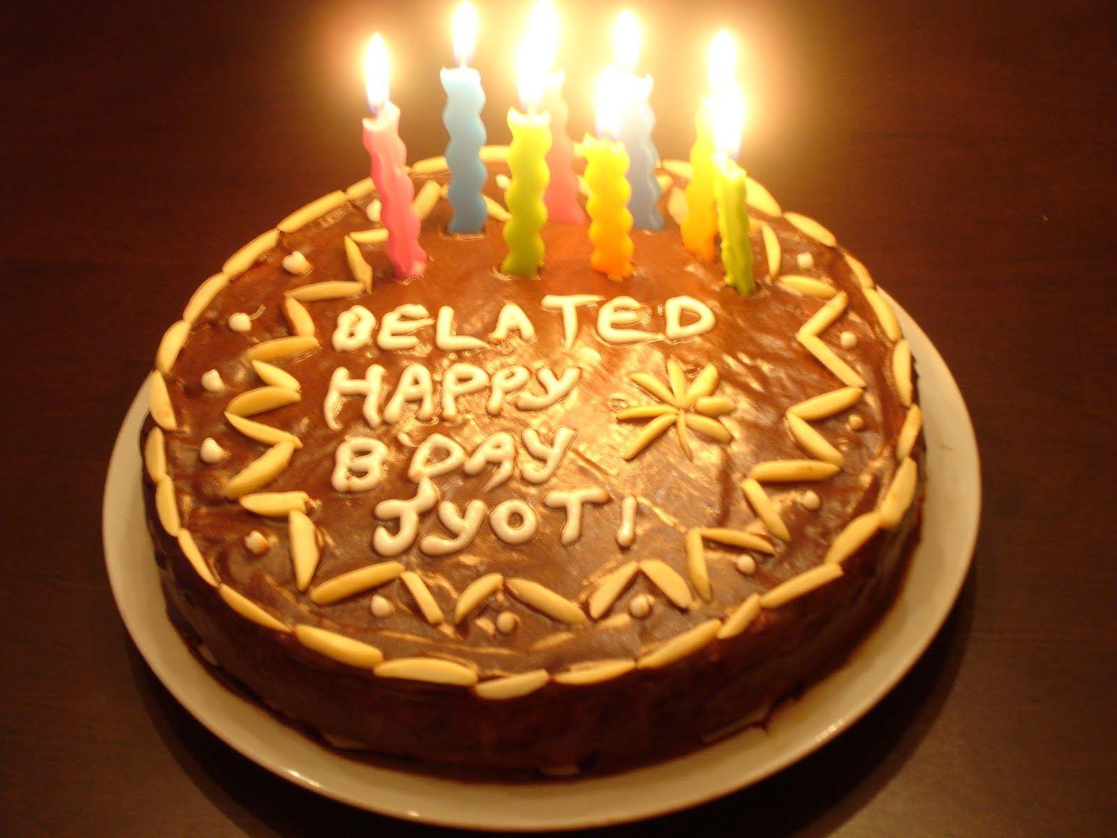 Happy Birthday Cake Jyoti
