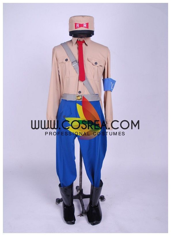 Dragonball General Blue Cosplay Costume