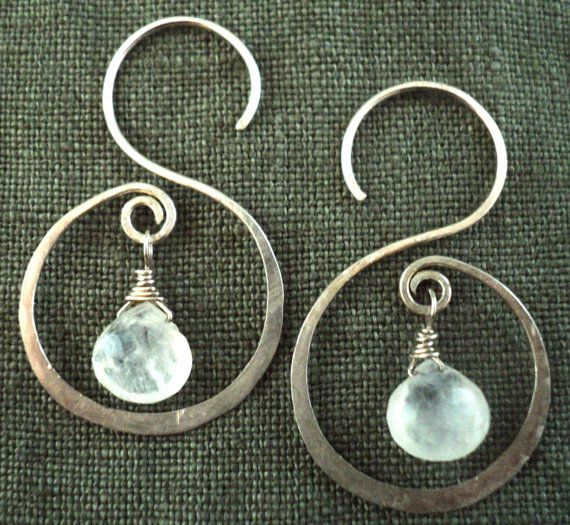 Moonstone And Sterling Silver Hand