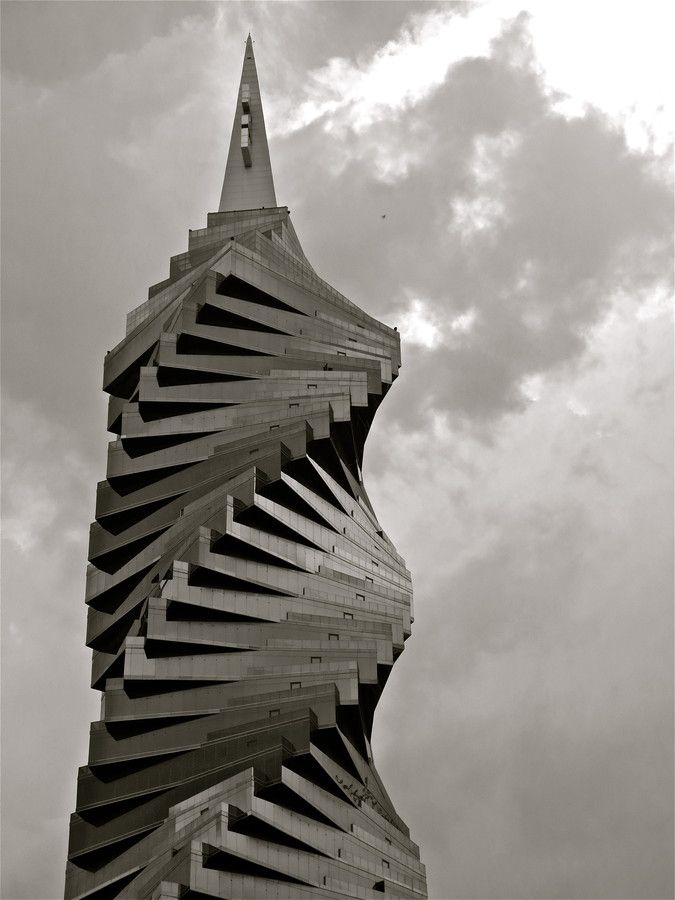 """""""You Say You Want a Revolution """" by Kevin Haggith, The REvolution Tower in Panama City's Banking and Business District"""