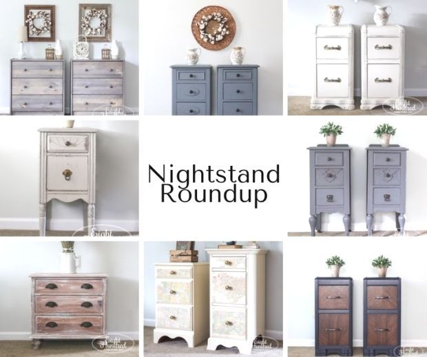 Nightstand Roundup  Eight Hundred Furniture painted furniture repurposed furniture furniture makeovers diy furniture furniture restoration antiques home decor and more