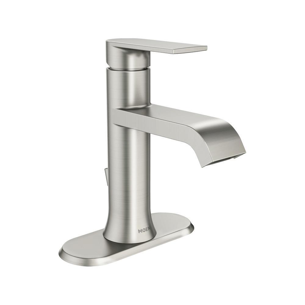 Moen Genta Single Hole Single Handle Bathroom Faucet In Spot