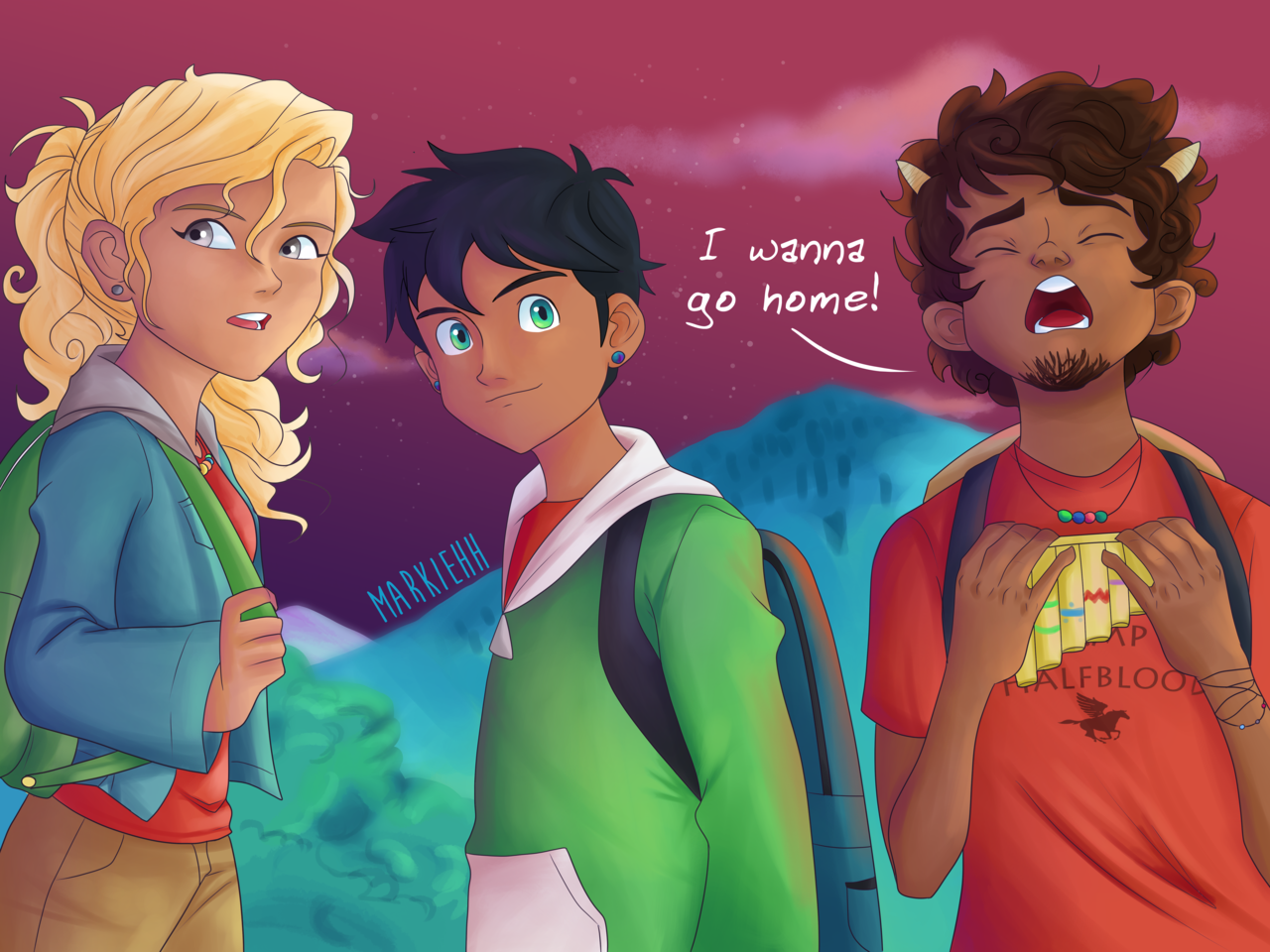 Remember When Percy Annabeth And Grover Got Lost In The New