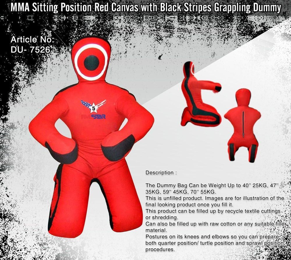 Grappling Dummy BJJ Wrestling Dummy Punching Bag Submission MMA Brazilian Jiu J