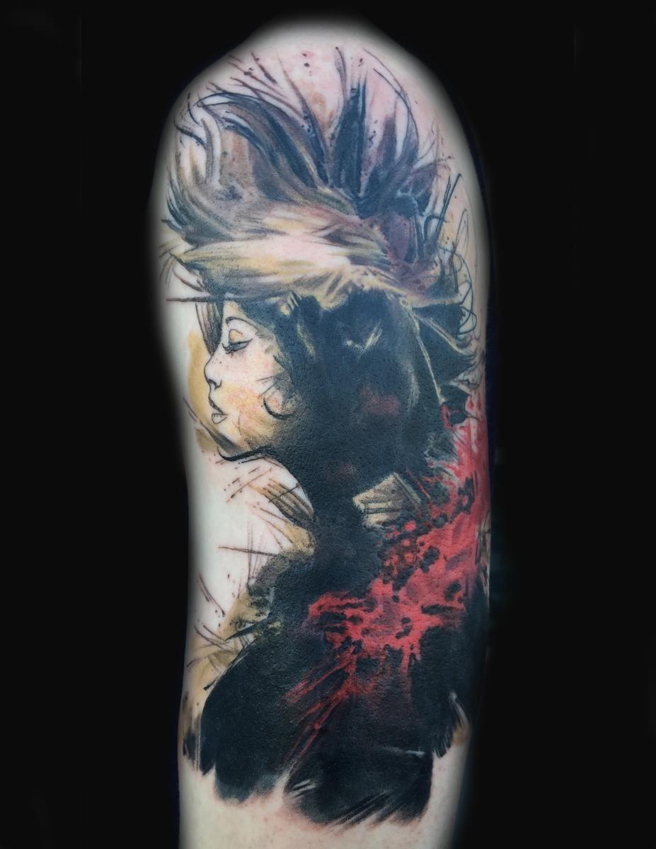 Joey hamilton with images artist art tattoo