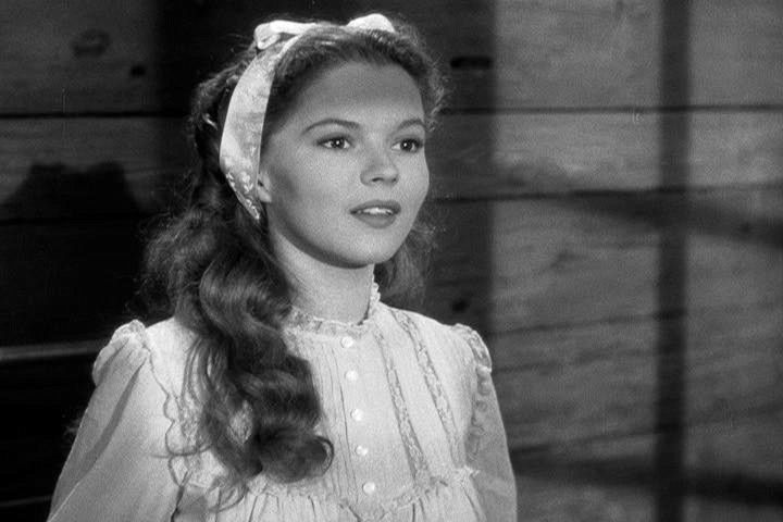 """Shirley Temple in """"Fort Apache"""" (1948)"""