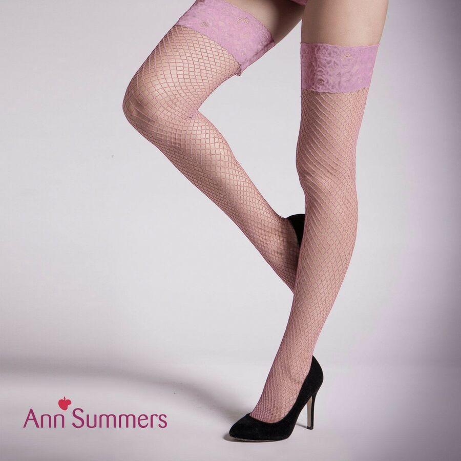 Red Fishnet Socks One Size #ca Fever Hosiery