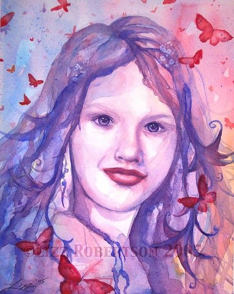 Paige by Lizz Robertson Klaras  on ARTwanted LK Custom Creations on Facebook www.LizzKlaras.showitsite.com