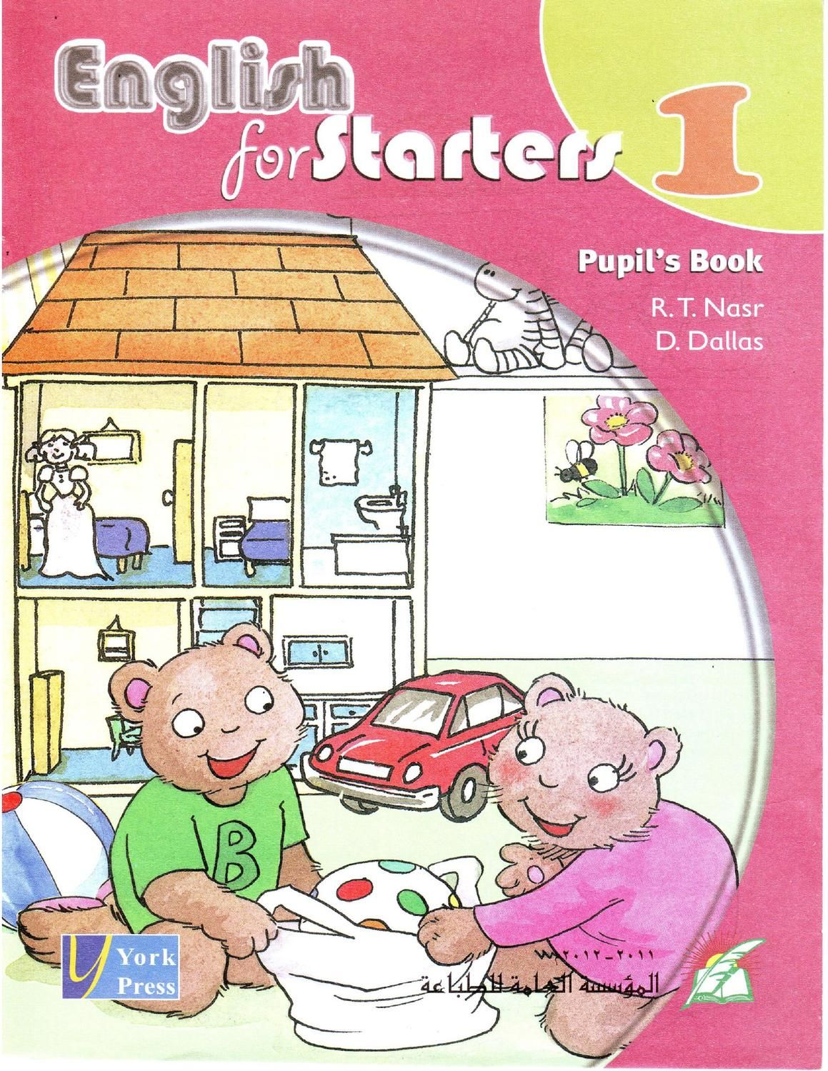 English For Starters 1 Multimedia English Learning Books Basic