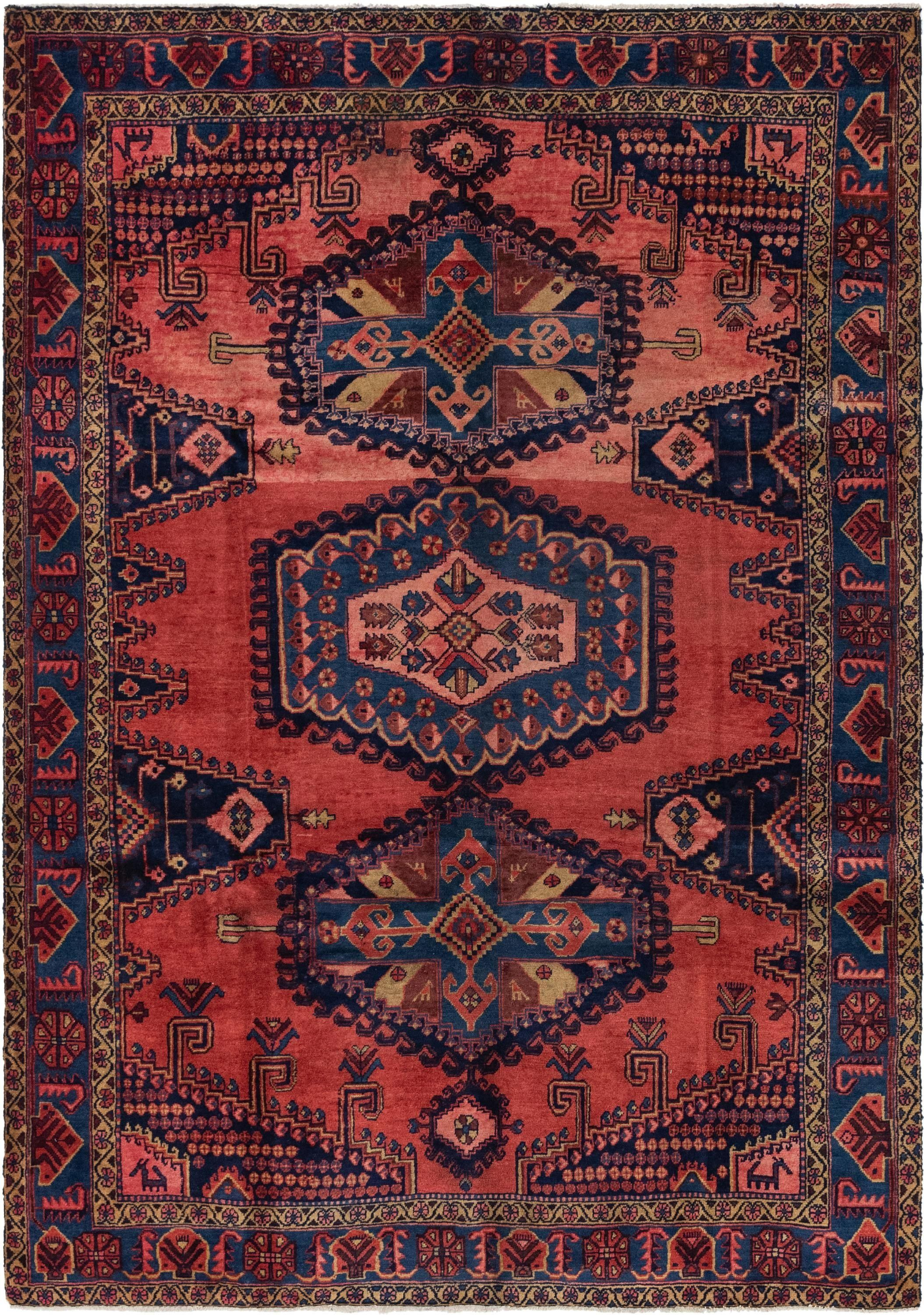 Red 6 10 X 10 Viss Persian Rug 1000 In 2020 Persian Rug Antique Persian Rug Rugs