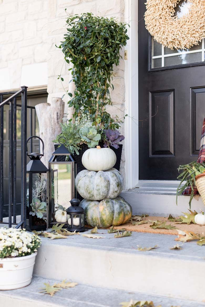 Small Front Porch Decorating Ideas Craft Mart Easy Fall Porch Decorations Fall Front Porch Decor Fall Decorations Porch