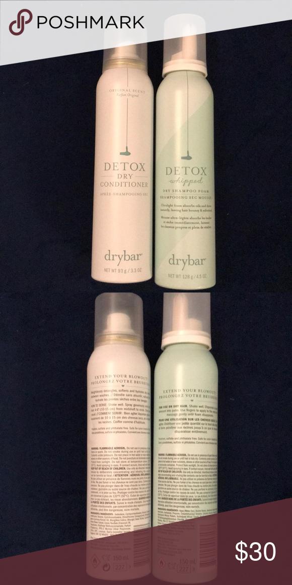 Drybar Detox Dry Conditioner Dry Shampoo Set Dry Conditioner Dry Shampoo Drybar