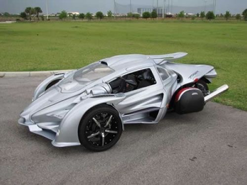 The Campagna T-Rex is a two-seat, three-wheeler has been produced by ...