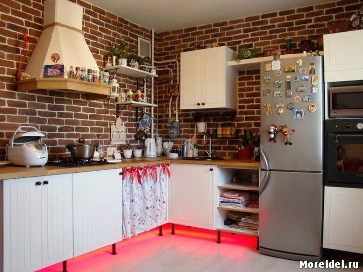 Дизайн кухни без верхних шкафов | Верхние шкафы, Дизайн ...