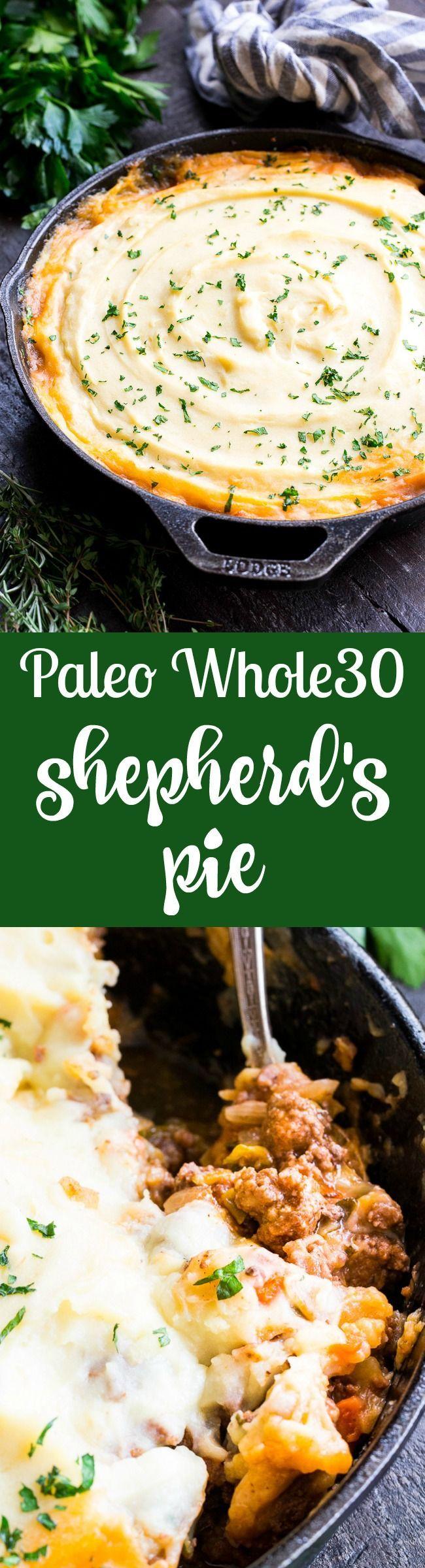 Paleo Shepherd's Pie (Whole30, Dairy Free) | Recipe ...