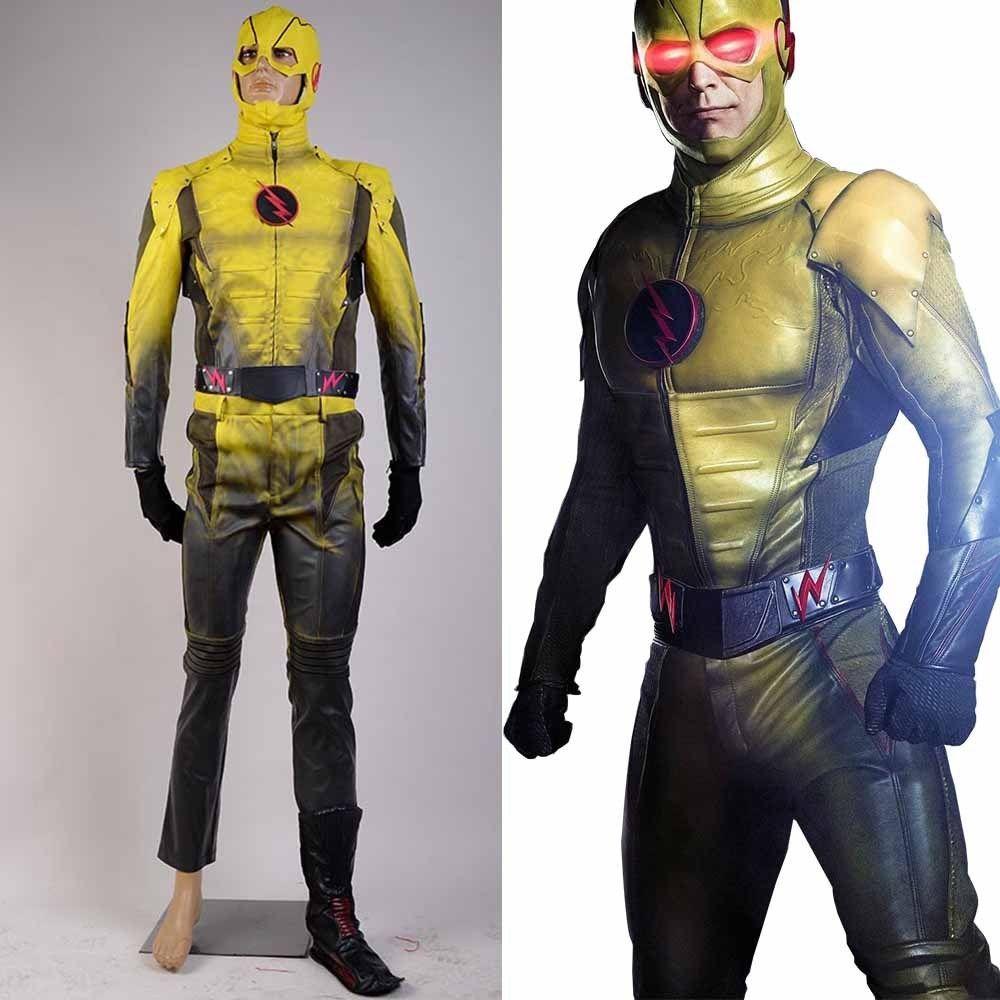 The Flash Zoom Eobard Thawn Cosplay Costume
