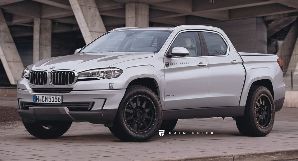 This Bmw Pickup Truck Rival To The Mercedes Benz X Class Could Be A Home Run Carscoops Bmw Truck Bmw Australia Pickup Trucks
