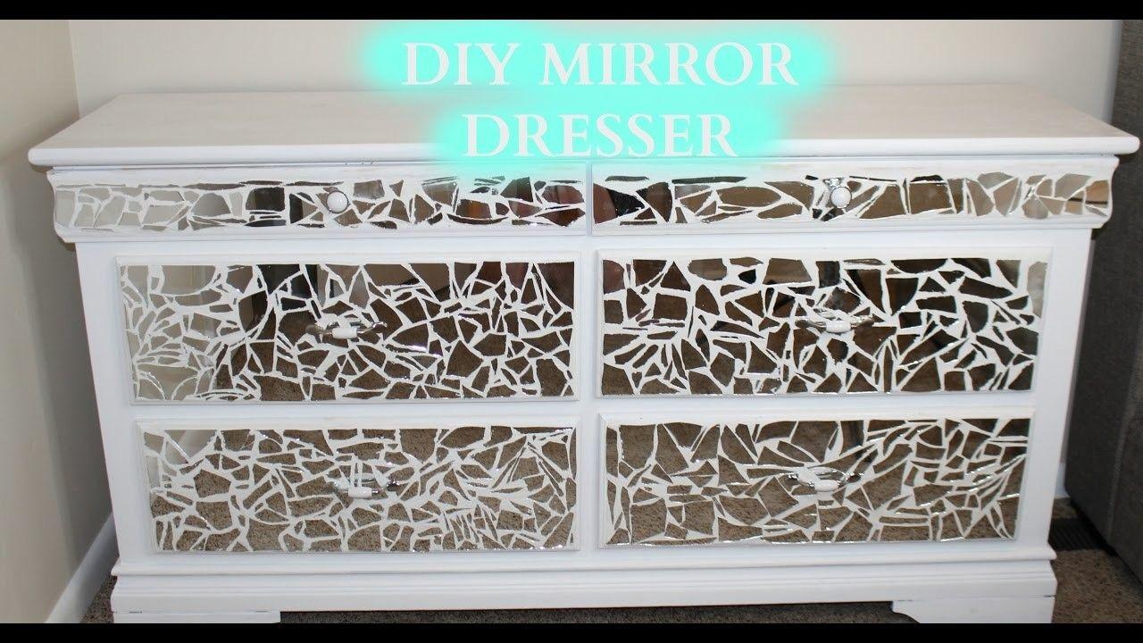 Diy mirror dresser under 100 dresser with mirror diy