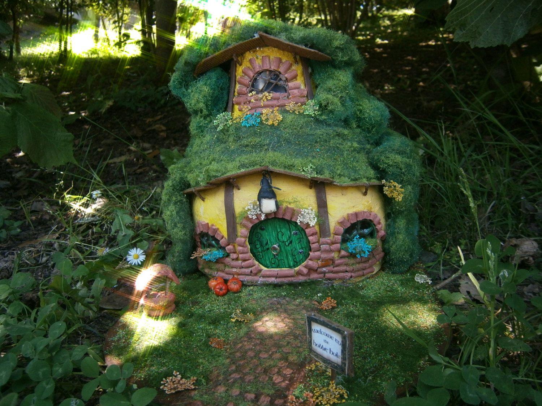 Hobbit Hole House ooak hobbit house diorama hobbiton ooak fantasymundomagico
