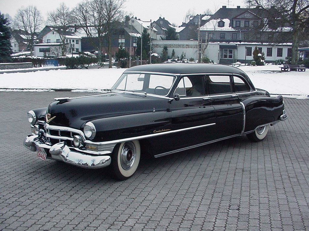 1952 Cadillac Fleetwood 75 Limousine Saw One Of These For Sale On