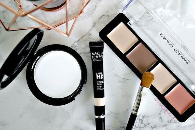 Contouring & Highlighting with Make Up For Ever