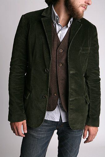 29600242142 UrbanOutfitters.com > Fink Velvet Blazer : blazer men mens velvet ...