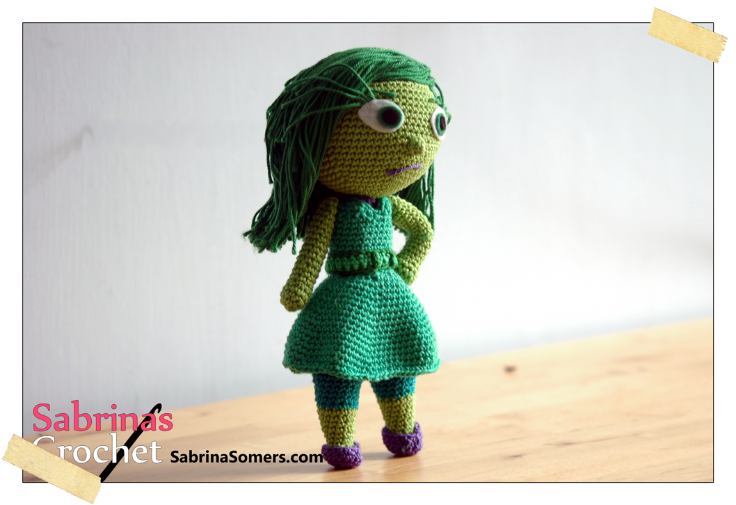 Disgust Inside Out Free Amigurumi Pattern | inside out | Pinterest ...