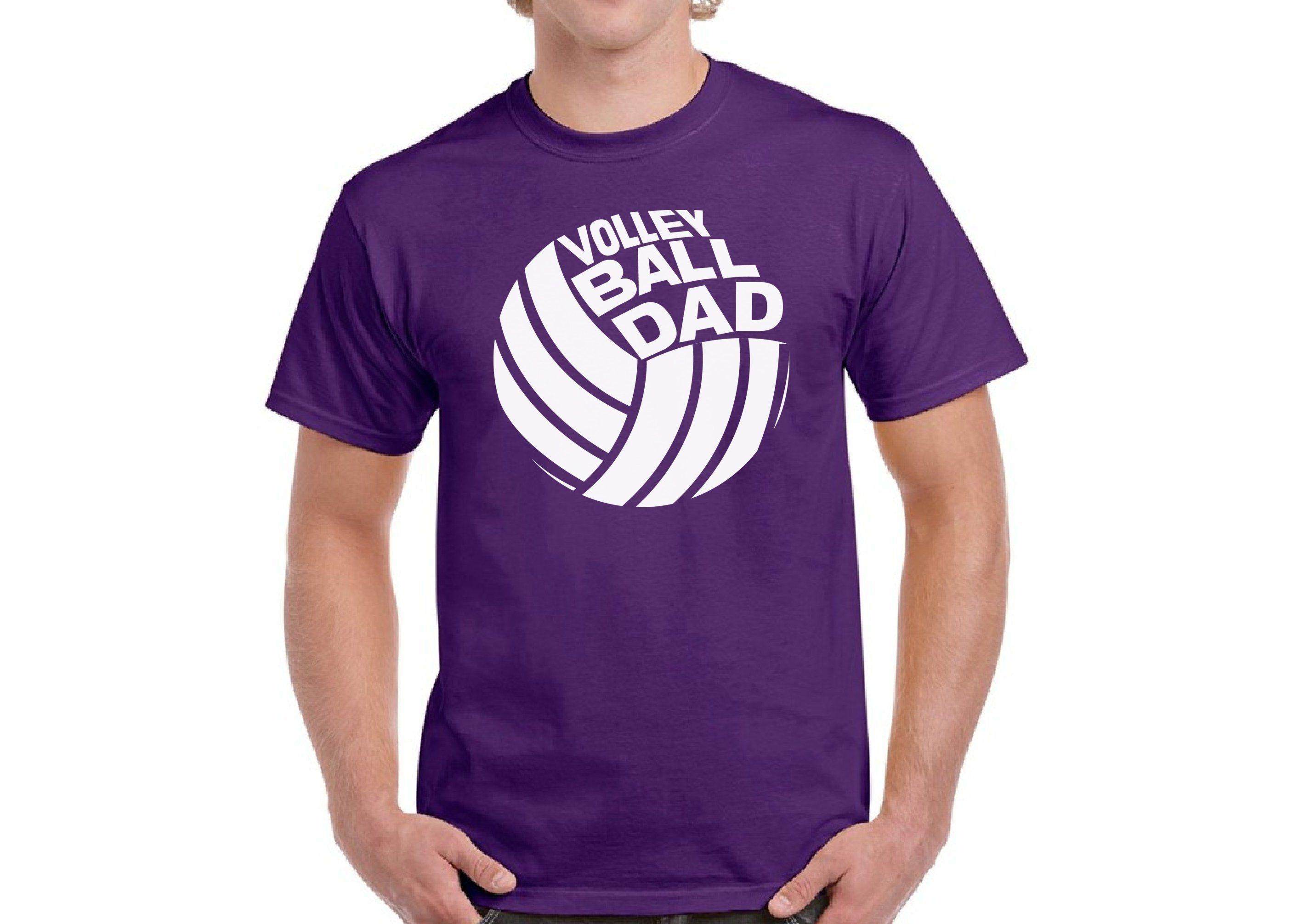 Volleyball Dad Mens Short Sleeve T Shirt 100 Cotton Sports Dad Men S Shirt Summer Workout Tshirt 2xl Blue Dad To Be Shirts Workout Tshirts Mens Shirts
