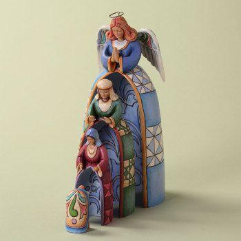 Emmanuel, God With Us - Jim Shore Nativity