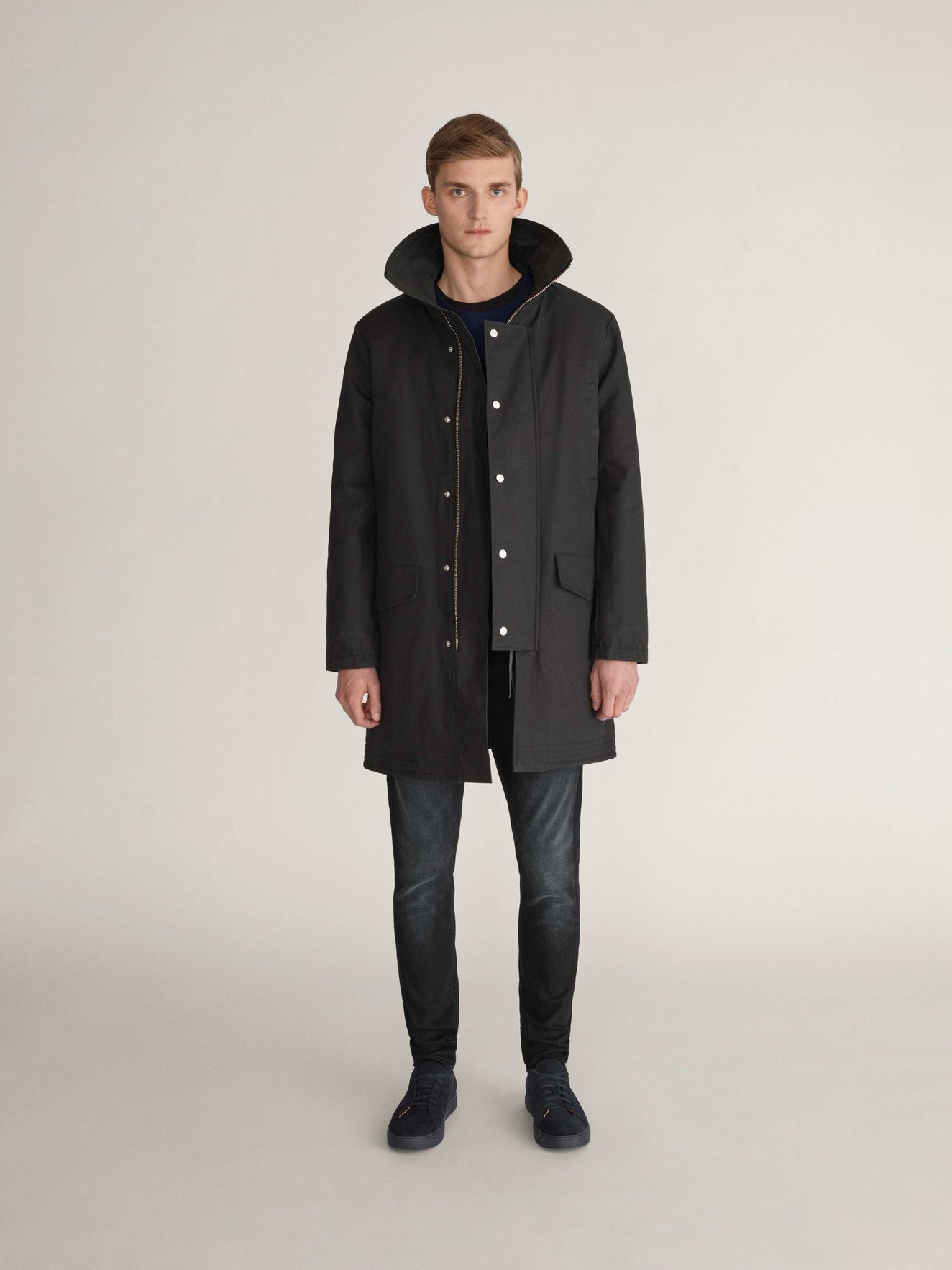 475c8f3a0fa Contract Parka in Black from Tiger of Sweden | A Gentlemen's Choice ...