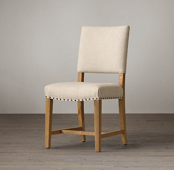 Georgian Fabric Side Chair:Symmetry And Simplicity , This Chair Captures  Its Timeless Appeal With A Rectangular Back, Saddle Seat And Tapered Legs  Joined By ...