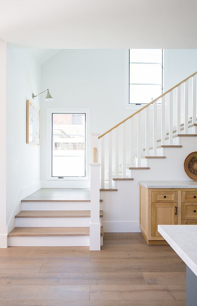 Photo of Wood floors and stairs: Colonial Collection in Lexington gray wash wide … – Sara's Collection